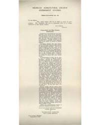 Press Bulletin Number 40, Document Pb-40 by R. S. Shaw
