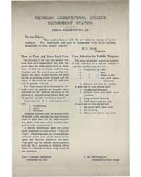 Press Bulletin Number 43, Document Pb-43 by R. S. Shaw