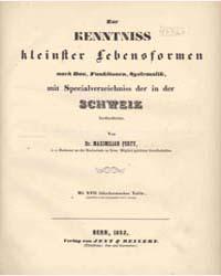Zur Renntniss , Document Pert0161 by Maximilian Perty