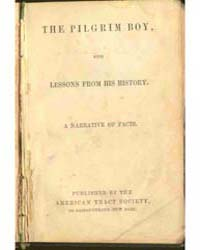 The Pilgrim Boy, with Lessons from His H... by Michigan State University