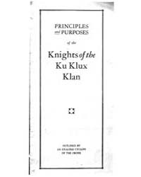 Principles and Purposes of the Knights o... by Michigan State University