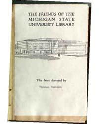 Rambles After Land Sheels., Document Ram... by Michigan State University