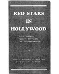 Red Stars on Hollywood, Document Redstar... by Jummie Fidler