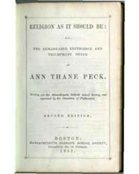 Religion as it Should Be : Or, the Remar... by Michigan State University