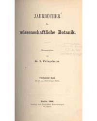 Jahrbucher Fur Wissenschaftliche Botanik... by N. Pringsheim