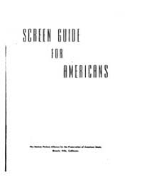 Screen Guide for Americans, Document Scr... by Michigan State University