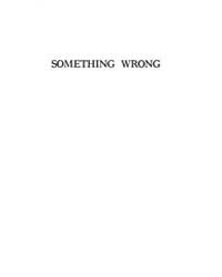 Something Wrong, Document Somethingwrong by George V. Webster