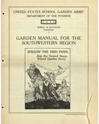 Garden Manual for the Southwestern Regio... by Michigan State University