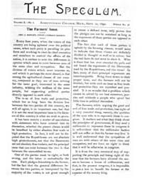 The Speculum, Volume X, Document Speculu... by Geo. A. Hawley
