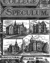 The College Speculum, Document Speculumv... by W. E. Davis