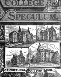 The College Speculum, Volume Vii, Docume... by Michigan State University