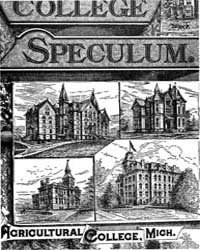 The College Speculum, Volume Vii, Docume... by H. B. Cannon