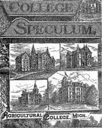 The College Speculum, Document Speculumv... by Michigan State University