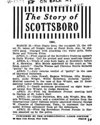The Story .of Scottsboro, Document Story... by Michigan State University