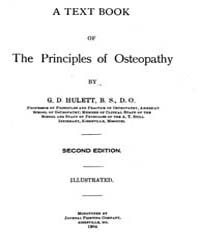 A Text Book of the Princi Pies of Osteop... by G. D. Hulett