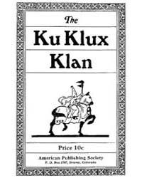 The Ku Klux Klan, Document Thekkk by Michigan State University
