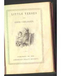 Little Verses for Good Children, Documen... by Michigan State University