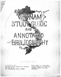 Vietnam Study Guide and Annotated Bibilo... by Michigan State University