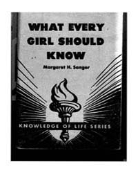 What Every Girl Should Know, Document Wh... by Margaret H. Sanger