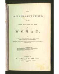 The Young Woman Friend, Document Ygwf by Daniel C. Eddy