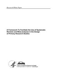 A Framework to Facilitate the Use of Sys... by Agency for Healthcare Research and Quality