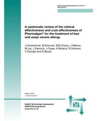 A Systematic Review of the Clinical Effe... by Hockenhull, J