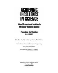 Achieving Xxcellence in Science by Shaywitz, Sally