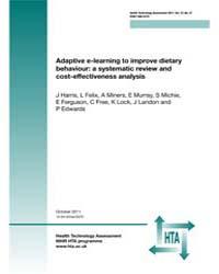 Adaptive E-learning to Improve Dietary B... by Harris, J