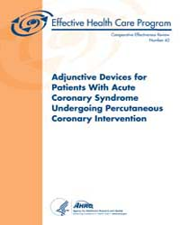 Adjunctive Devices for Patients with Acu... by Agency for Healthcare Research and Quality