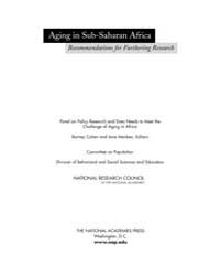 Aging in Sub-saharan Africa: Recommendat... by Cohen, Barney, Menken, Jane