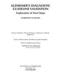 Alzheimer's Diagnostic Guideline Validat... by National Academies Press (US)