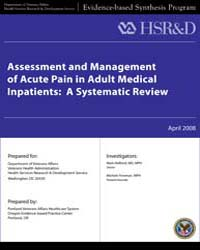 Assessment and Management of Acute Pain ... by Department of Veterans Affairs US