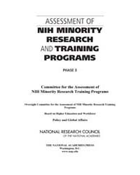 Assessment of Nih Minority Research and ... by National Academies Press US