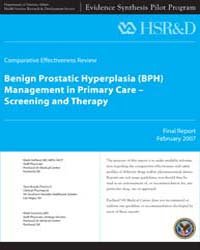 Benign Prostatic Hyperplasia Bph Managem... by Department of Veterans Affairs (US)