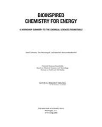 Bioinspired Chemistry for Energy: a Work... by National Academies Press (US)
