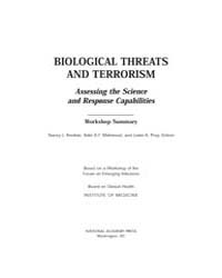 Biological Threats and Terrorism: Assess... by Knobler, Stacey L