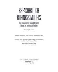 Breakthrough Business Models : Drug Deve... by National Academies Press US