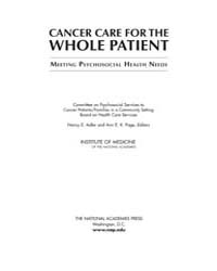 Cancer Care for the Whole Patient: Meeti... by Adler, Nancy, E