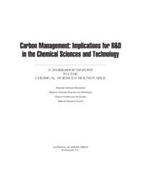 Carbon Management : Implications for R&D... by National Academies Press US
