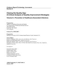 Closing the Quality Gap : a Critical Ana... by Shojania, Kaveh, G