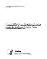 Comparative Effectiveness of Angiotensin... by Agency for Healthcare Research and Quality US