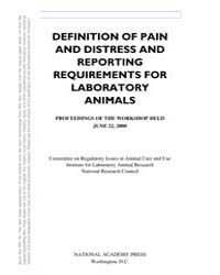Definition of Pain and Distress and Repo... by National Academies Press US