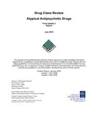 Drug Class Review Atypical Antipsychotic... by McDonagh, Marian, S.