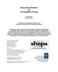 Drug Class Review on Constipation Drugs ... by Gartlehner, Gerald