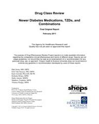 Drug Class Review Newer Diabetes Medicat... by Jonas, Dan