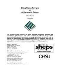 Drug Class Review on Alzheimer's Drugs: ... by Hansen, Richard, A.