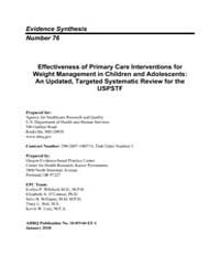 Effectiveness of Primary Care Interventi... by Ea, O'Conner