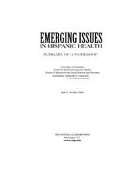Emerging Issues in Hispanic Health: Summ... by Jg, Iannotta
