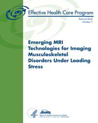 Emerging Mri Technologies for Imaging Mu... by Agency for Healthcare Research and Quality US
