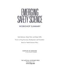 Emerging Safety Science : Workshop Summa... by Agency for Healthcare Research and Quality US